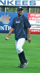 Curtis Granderson during warm-ups