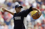 Ivan Nova pitching today for the Yankees