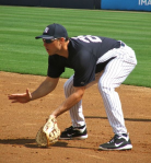 Mark Teixeira fielding grounders