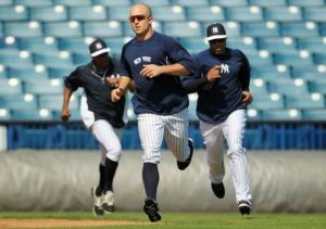 Brett Gardner could be the Yankees CF on Opening Day--if Joe Girardi and Brian Cashman like what they see