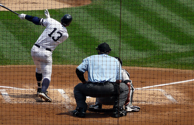 A-Rod strokes his 600th HR (Photo courtesy of Flickr)