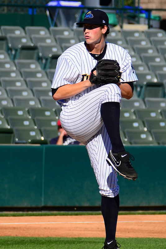 Turley pitched in Trenton during playoffs (flickr photo by slgckgc used thru Creative Commons License)