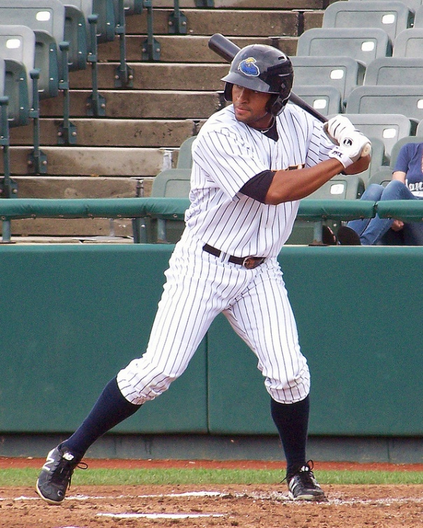 Almonte has shown good left-handed power (flickr photo used through Creative Commons license)