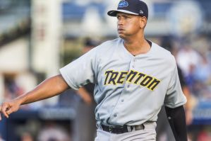 Alex Rodriguez went five innings with a home run in his rehab start in Trenton on Friday night